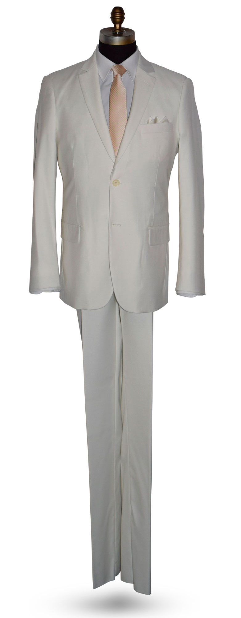 OFF-WHITE MENS MODERN FIT SUIT - COAT AND PANTS ONLY