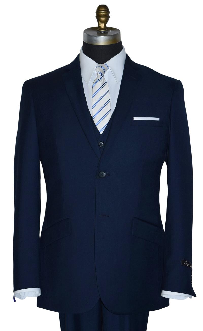 Navy Blue Suit 3 Piece