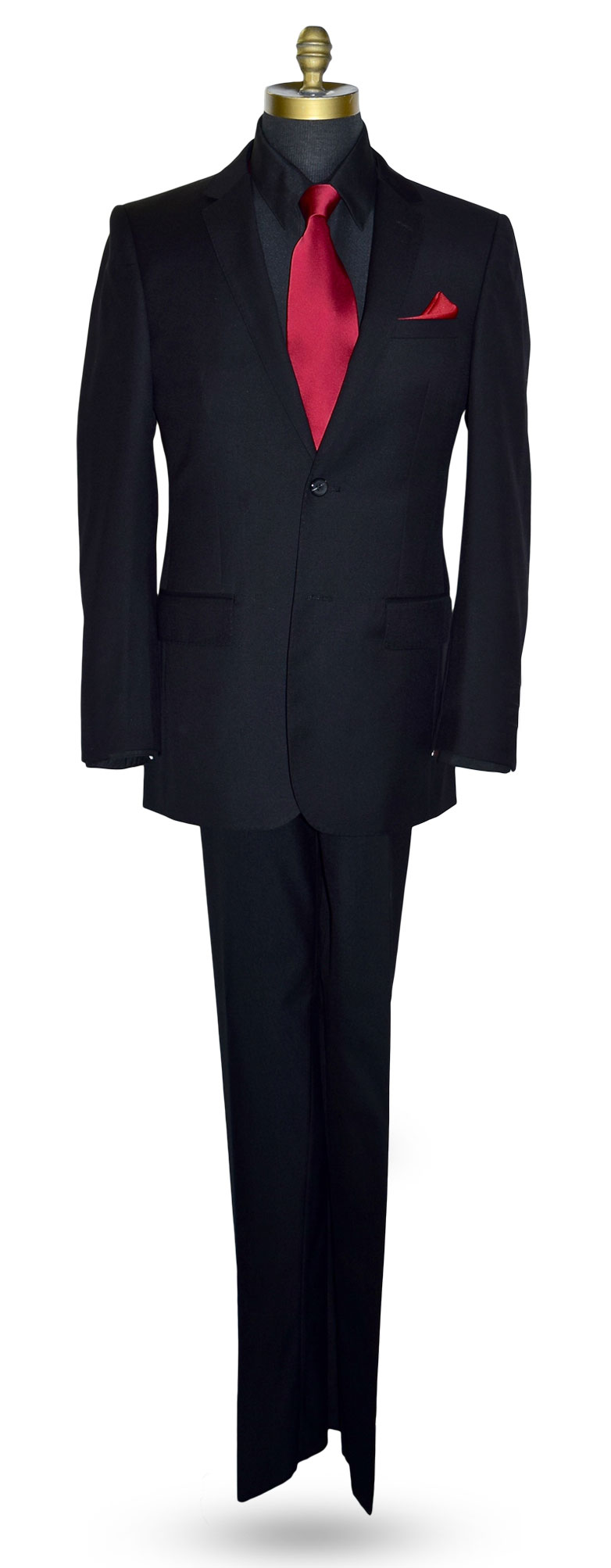 Black Suit Coat and Pants Set-Top of the Line