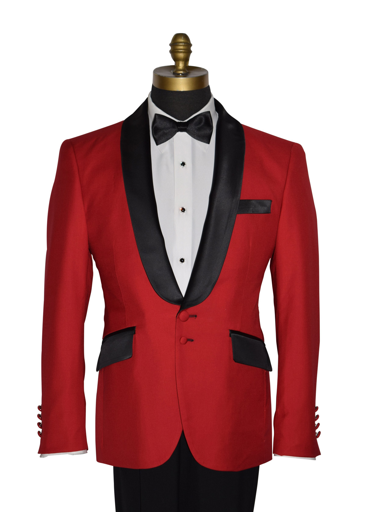 Royal Red Tux Coat Only