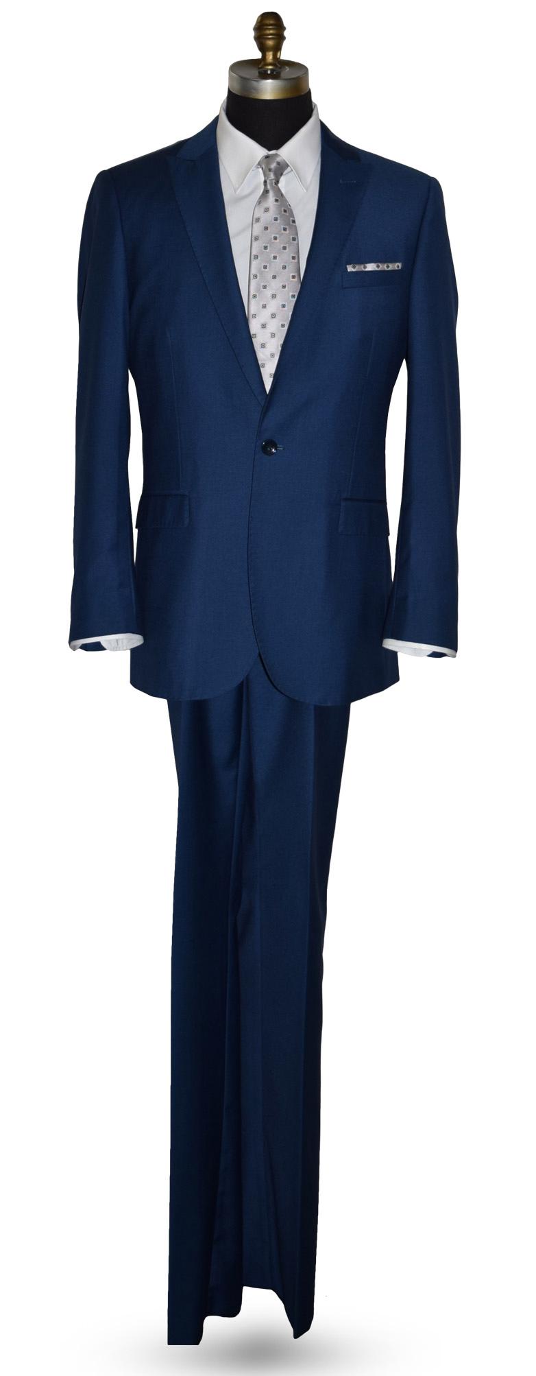 Azure Blue Coat and Pants Set - A real beauty.