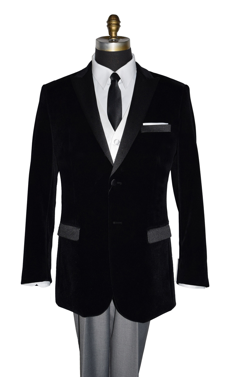 Black Velvet Dinner Jacket/Tuxedo Jacket Only