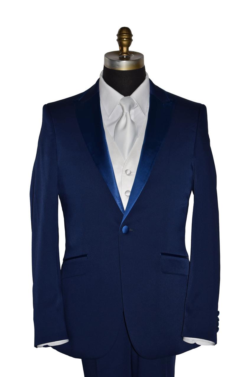 Persian Blue Tuxedo Ensemble