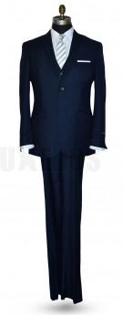 46 Long Coat_40 Waist pants_Vest