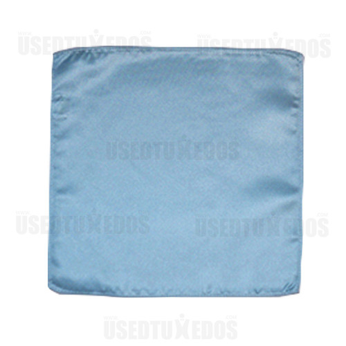 CAPRI BLUE POCKET HANDKERCHIEF