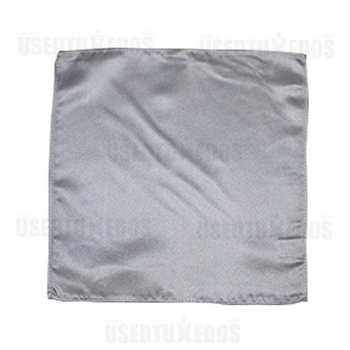 silver pocket handkerchief by San Miguel Formals