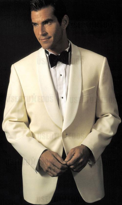 Ivory Shawl Collar Tuxedo