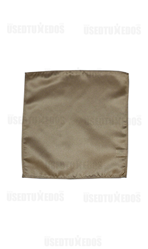 golden pocket handkerchief by San Miguel Formals