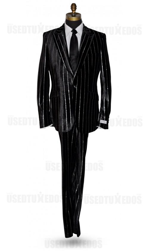 Pinstripe Velvet Tuxedo Tuxbling.com