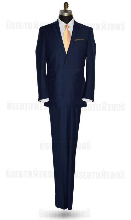 Catalina Blue Suit Coat and Pants Ensemble