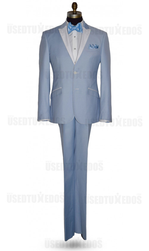 Powder Blue Tuxedo Ensemble