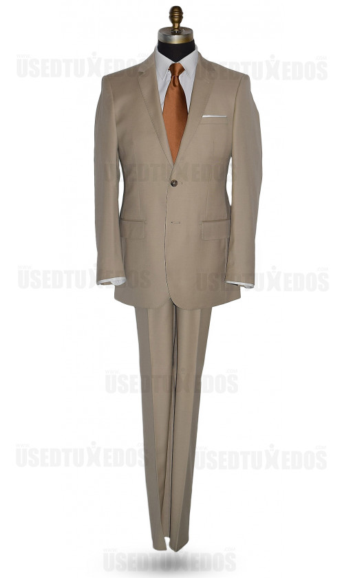 Camel Tan Suit Ensemble-Cashmere and Super Fine Wool