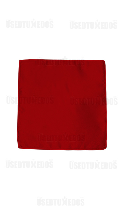 valentina ruby red pocket handkerchief